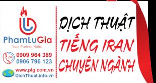 Dịch tiếng Iran sang tiếng Việt