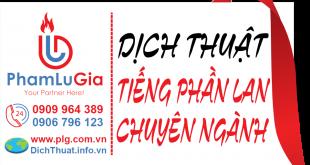 Dịch từ tiếng Phần Lan sang tiếng Việt