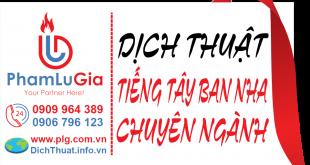 Dịch từ tiếng Tây Ban Nha sang tiếng Việt