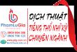 Dịch tiếng Thổ Nhĩ Kỳ sang tiếng Việt