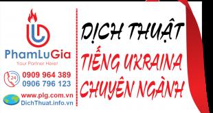Dịch tiếng Ukraina sang tiếng Việt